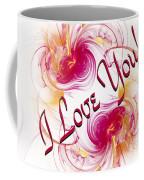 I Love You Card 1 Coffee Mug