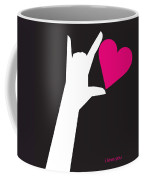 I Love You Sign Coffee Mug