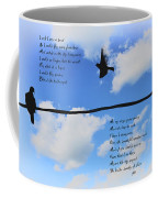 I Wish I Were A Bird Coffee Mug