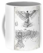 Icarus Patent 1889 Coffee Mug