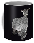 Ice Cold Lamb Carved In Ice Coffee Mug