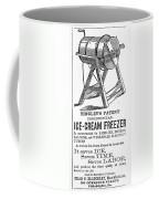 Ice Cream Freezer, 1872 Coffee Mug