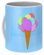 Ice Cream On Hand Made Paper Coffee Mug by Setsiri Silapasuwanchai