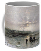 Ice Fishing Coffee Mug