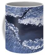 Ice Formations On Small Creek Coffee Mug