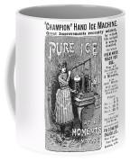 Ice Machine, 1891 Coffee Mug