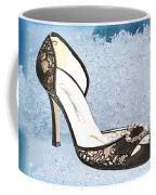 Ice Princess Lace Pumps Coffee Mug