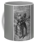 Ice Skating, 19th Century Coffee Mug