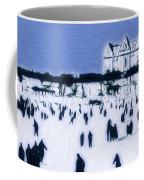 Ice Skating In Central Park Coffee Mug