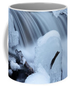Ice Tombstone Frozen In Time Coffee Mug