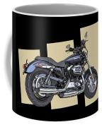 Iconic Harley Davidson Coffee Mug