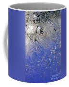 Icy Window Pane Coffee Mug