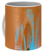 Idol Of Pomos Abstract Coffee Mug