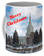 If Temple Christmsa Card 1 Coffee Mug