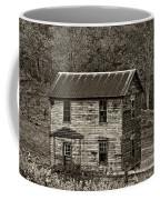 If These Walls Could Talk Sepia Coffee Mug