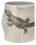 Iguana, 1585 Coffee Mug