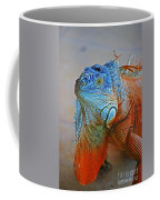 Iguana Close-up Coffee Mug