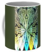 Illumination Of The Glass Butterfly Coffee Mug