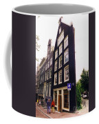 Illusion Of A Two Dimensional Building In Amsterdam Coffee Mug