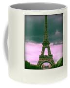 Illustration Of Eiffel Tower Coffee Mug