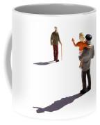 Illustration Of Elderlys Coffee Mug