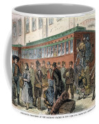 Immigrants, Nyc, 1880 Coffee Mug
