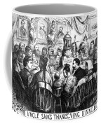 Immigration Cartoon, 1869 Coffee Mug
