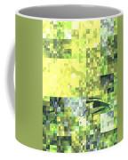 Impatience Geometric Yellow Coffee Mug
