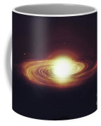 Implosion Of A Sun With Visible Solar Coffee Mug