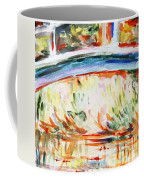 Impressions On Monet Painting Of Pond With Waterlilies  Coffee Mug