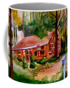 In A Cottage In The Woods Coffee Mug