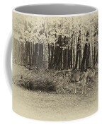 In A Yellow Wood Antique Coffee Mug