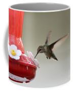 In Flight Dinner  Coffee Mug