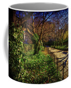 In The Conservatory Garden Coffee Mug
