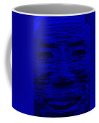 In Your Face In Blue Coffee Mug