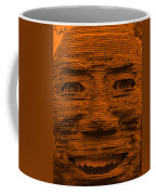 In Your Face In Orange Coffee Mug