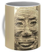 In Your Face In Sepia Coffee Mug