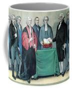 Inauguration Of George Washington, 1789 Coffee Mug by Photo Researchers