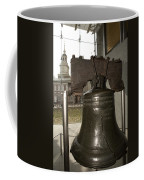 Independence Hall Overlooking Coffee Mug by Tim Laman