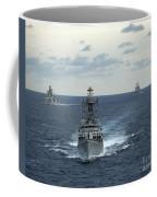 Indian Navy Corvette Ship Ins Kulish Coffee Mug