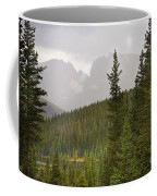 Indian Peaks Colorado Rocky Mountain Rainy View Coffee Mug
