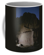 Indian Pictographs Are Illuminated Coffee Mug