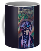 Indigenous Motto Earth Tones Coffee Mug