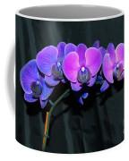 Indigo Mystique Orchids  Coffee Mug