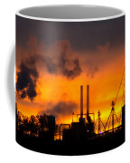 Industrial Strength Sunset Coffee Mug