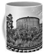Industrial Tank In Black And White Coffee Mug