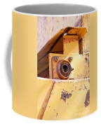 Industrial Yellow Coffee Mug