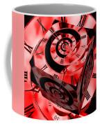 Infinity Time Cube Red Coffee Mug