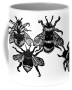 Insects: Bees Coffee Mug