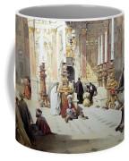 Inside Holy Specular Church In Jerusalem Coffee Mug